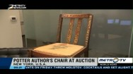 Harry Potter Author's Chair at Auction