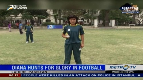 Diana Baig Hunts for Glory in Football