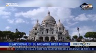 Dissaproval of EU Growing Over Brexit