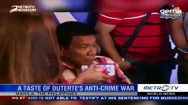 A Taste of Rodrigo Duterte's Anti Crime War