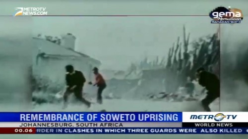 Remembrance of Soweto Uprising