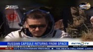 Russian Capsule Returns from Space
