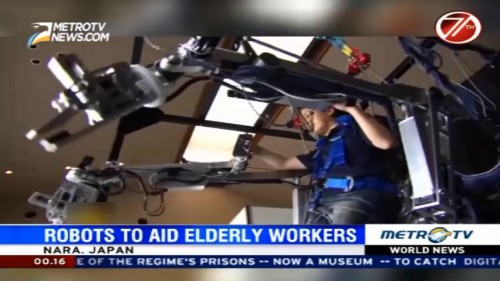 Robots to Aid Elderly Workers