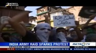 Indian Army Raid Sparks Protest