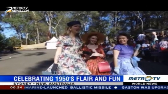Celebrating 1950's Flair and Fun