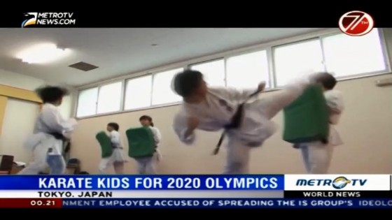 Karate Kids for 2020 Olympics