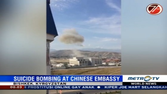 Suicide Bombing at Chinese Embassy