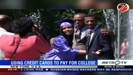 Using Credit Cards to Pay For College