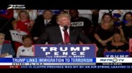 Trump Links Immigration to Terrorism