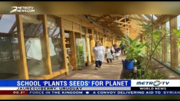 Green School 'Plant Seeds' for The Planet
