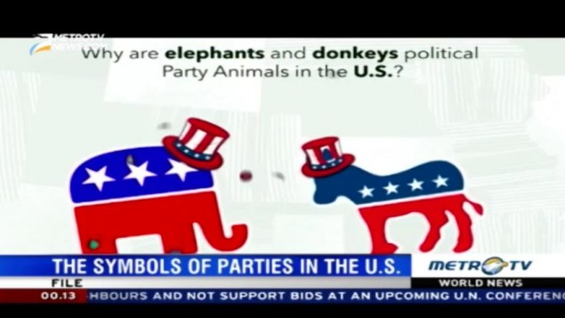 World News The Symbols Of Parties In The Us