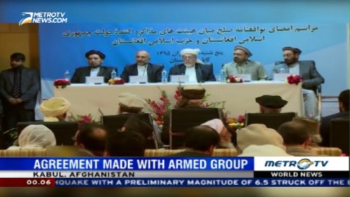 The Afghan Government Reached A Peace Deal with Hezb-e-islami