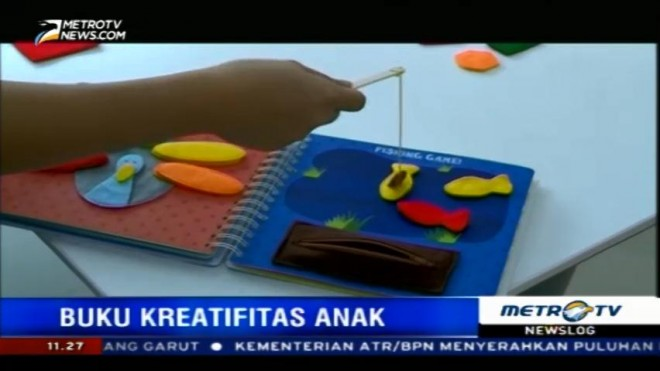 Busy Book, Media Efektif Asah Kreavitas Anak (1)