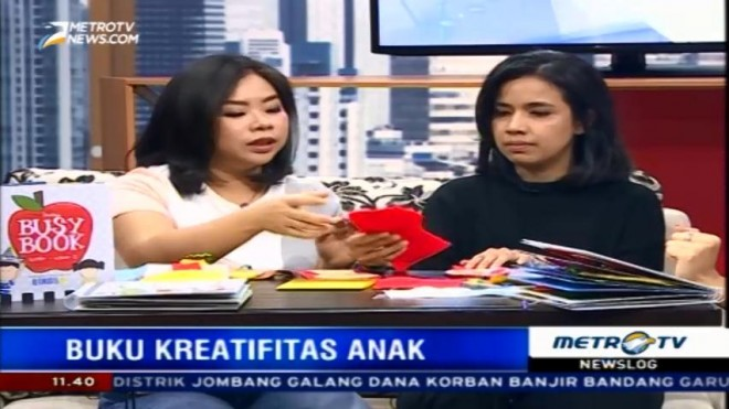 Busy Book, Media Efektif Asah Kreavitas Anak (2)
