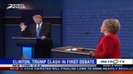 Clinton-Trump Clash in First Debate