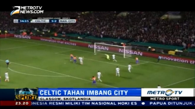 Celtic Tahan Imbang City