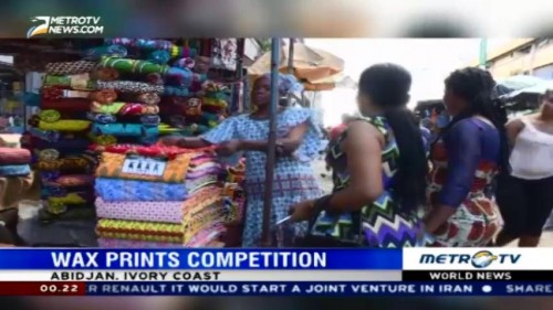 Wax Prints Competition in Ivory Coast