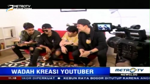 Youtube Pop-up Space, Wadah Kreasi Bagi Para Youtuber