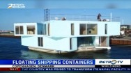 Students Live in Floating Shipping Containers