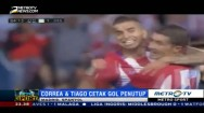 Carrasco Hat-trick, Atletico Madrid Permalukan Granada 7-1