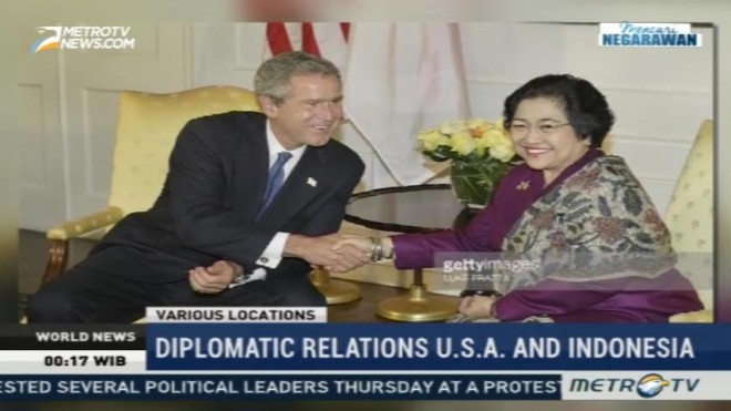 Diplomatic Relations USA and Indonesia