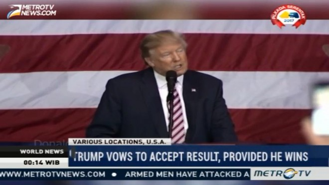 Trump Vows To Accept Result, Provided He Wins