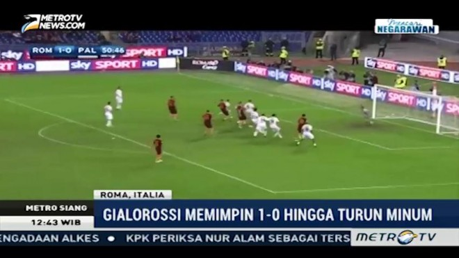 AS Roma Bantai Palermo 4-1