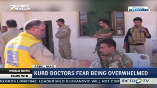 Kurd Doctors Fear Being Overwhelmed