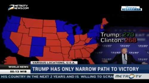Trump Has Only Narrow Path to Victory