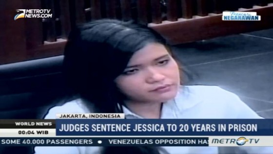 Judges Sentence Jessica to 20 Years in Prison