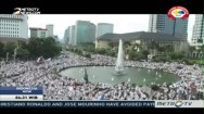 Mass Prayer for Nation's Unity Held in Jakarta
