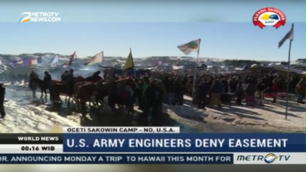 US Army Engineers Deny Easement for Dakota Access Pipeline