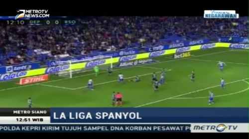 Highlight La Liga Spanyol