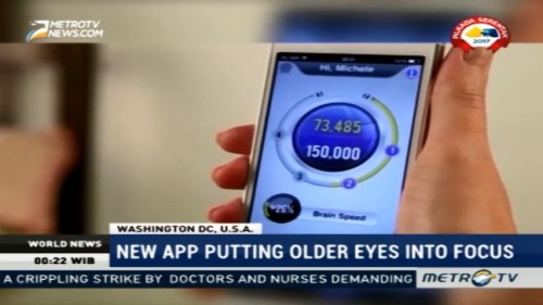 New App Putting Older Eyes Into Focus
