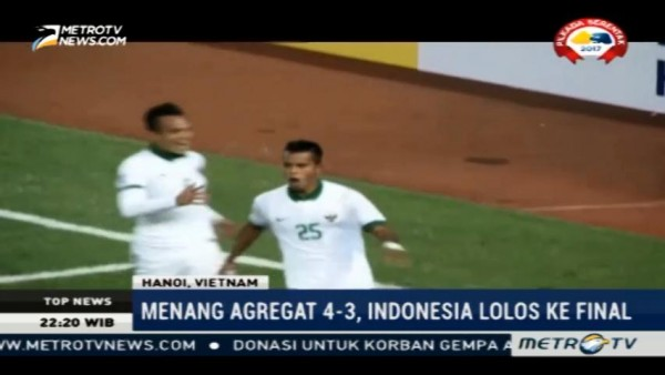 Menang Agregat 4-3, Indonesia Lolos ke Final Piala AFF 2016