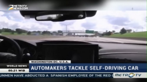 Automakers Tackle Self-driving Car