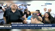 Court Convicts Israeli Soldier of Manslaughter