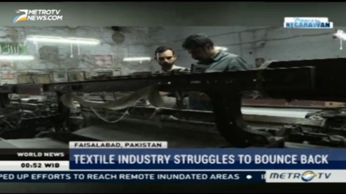 Textile Industry Struggles to Bounce Back
