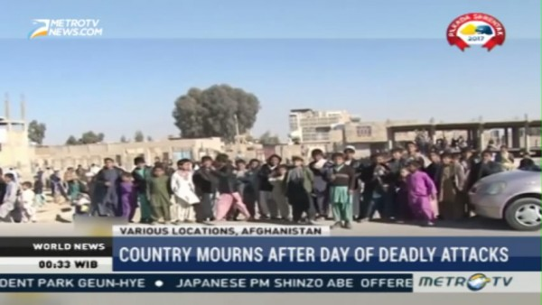 Afghanistan Mourns After Day of Deadly Attacks