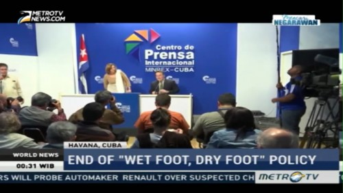 End of 'Wet Foot, Dry Fpot