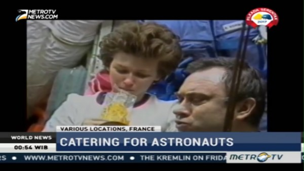 Catering for Astronauts