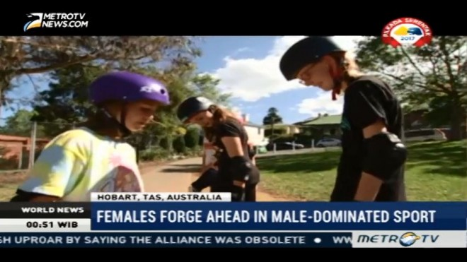 Females Forge Ahead in Male Dominated Sport