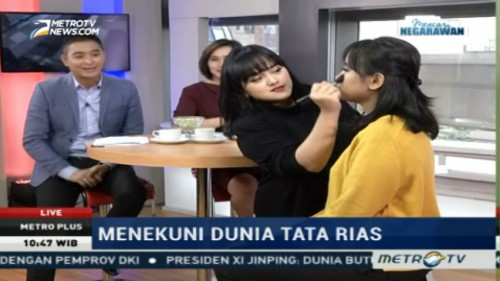Yuk Belajar Make Up Bareng Lizzie Parra