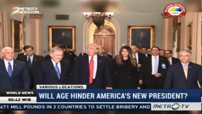 Will Age Hinder America's New President?