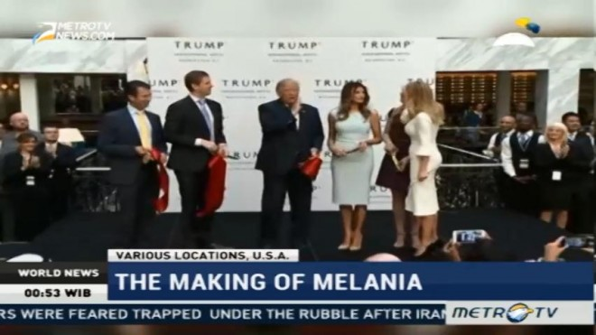 The Making of Melania Trump