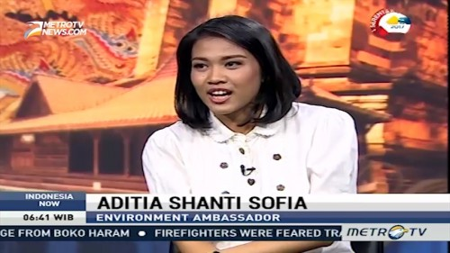 Interview with Environment Ambassador Aditia Shanti Sofia