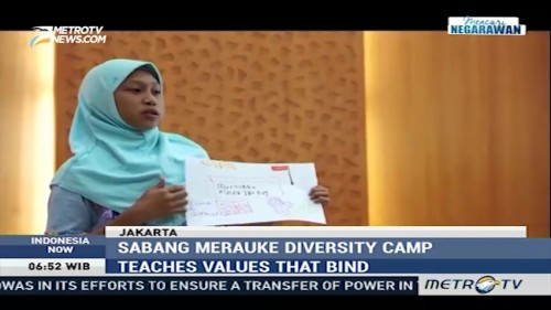 Sabang Merauke Diversity Camp Teaches Values That Bind