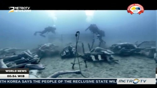 Europe's First Underwater Museum Opens