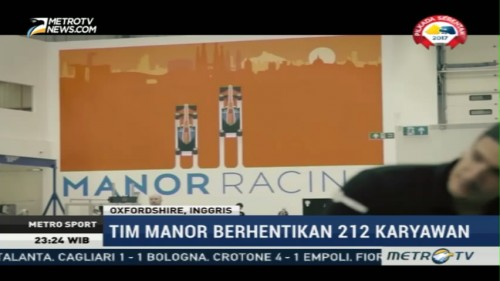 Tim Manor Racing Dinyatakan Bangkrut