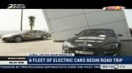 Electric Cars Begin Road Trip